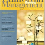 California Management Review (CMR) article