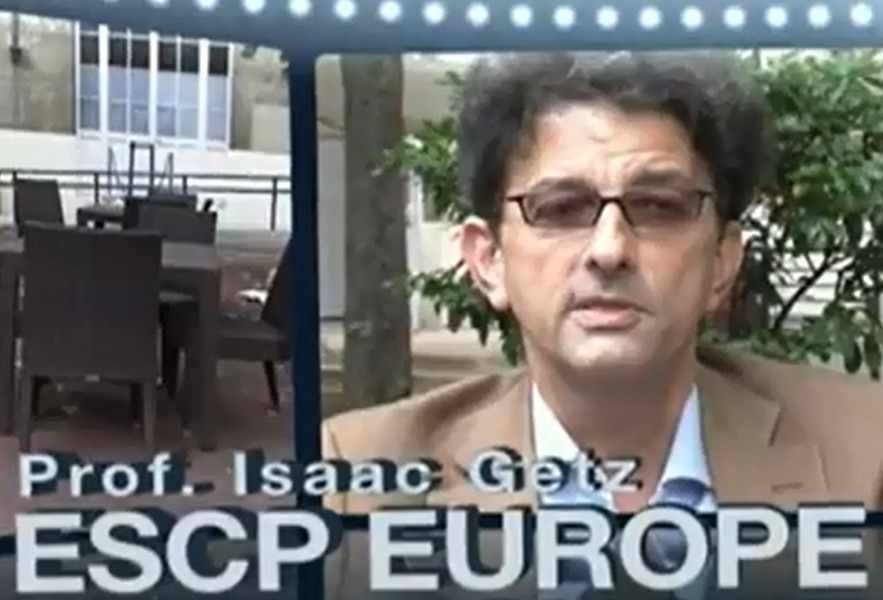 Isaac's video clip for ESCP Europe