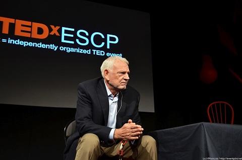 Bob Davids speaks at TEDx in Paris