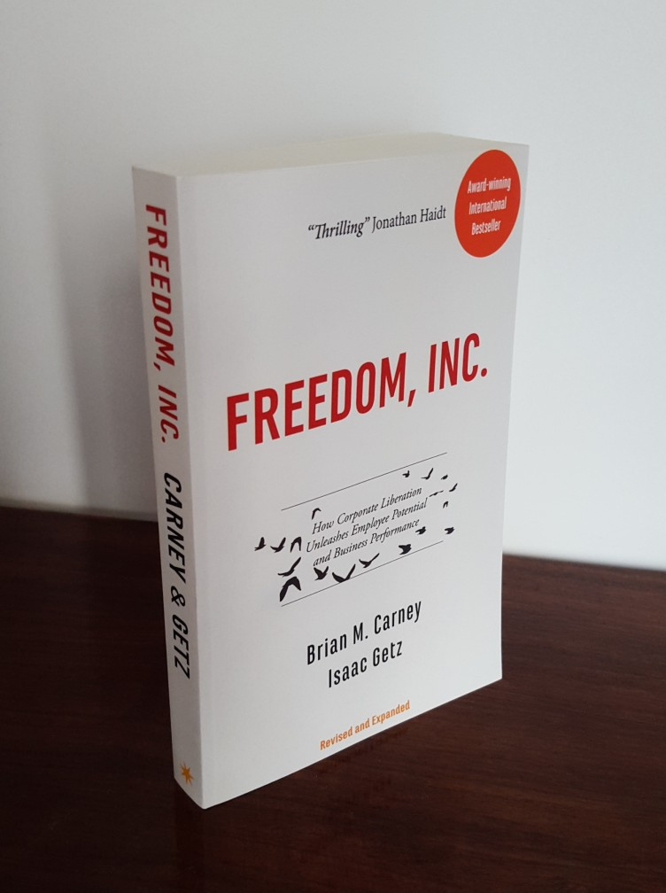 "New and revised edition of ""Freedom, Inc."" has appeared"