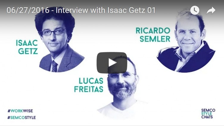 Ricardo Semler discusses how to actually do #CorporateLiberation with @isaacgetz. Next : June 30 at 7pm CET