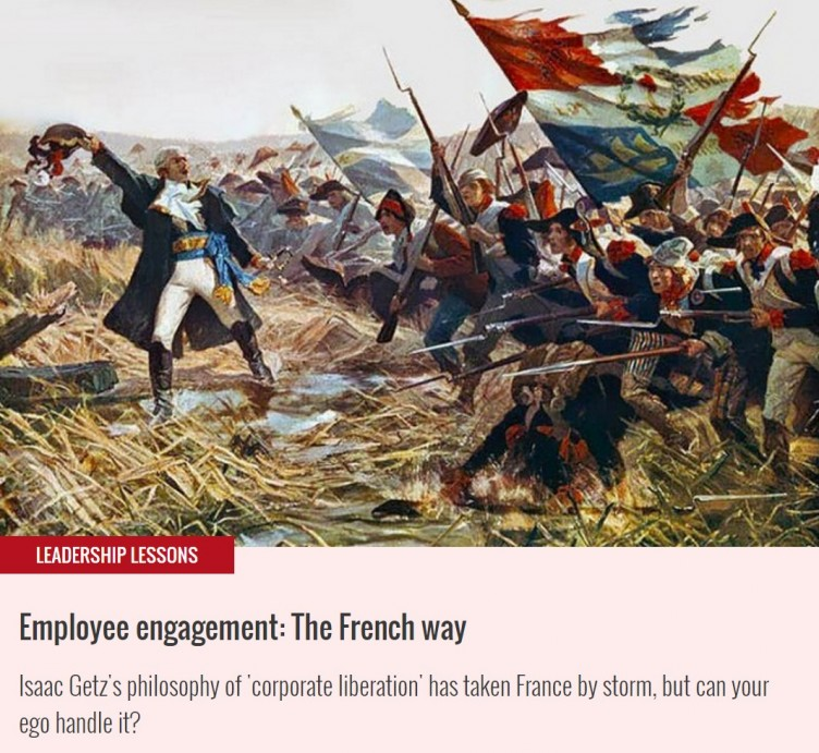 "British ""Management Today"" takes a look at the French Corporate Liberation"
