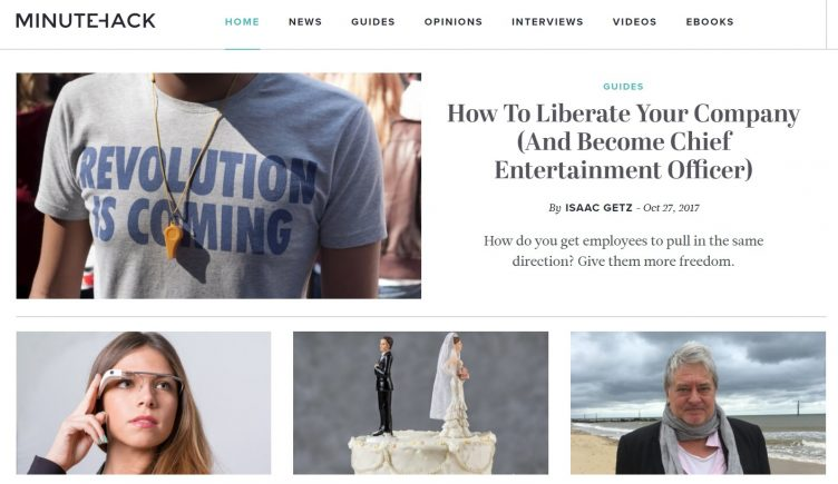 How To Liberate Your Company (And Become Chief Entertainment Officer)