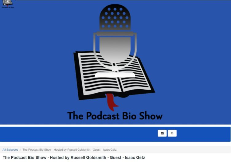 The Podcast Bio Show hosted by Russell Goldsmith