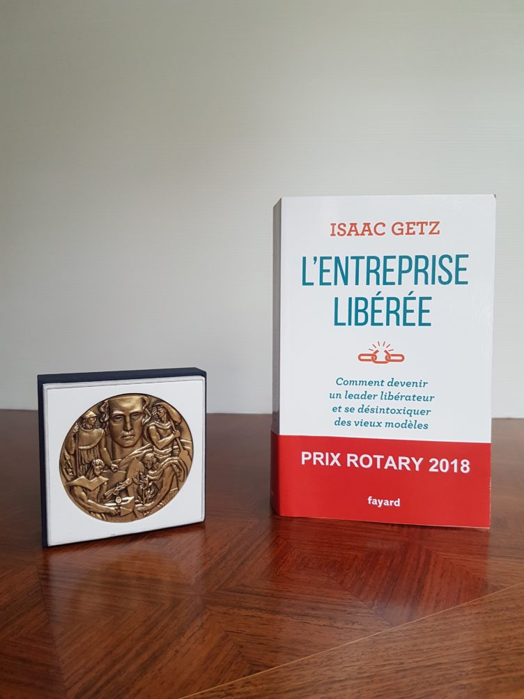 Our book has won the Best Business Book of the Year Award