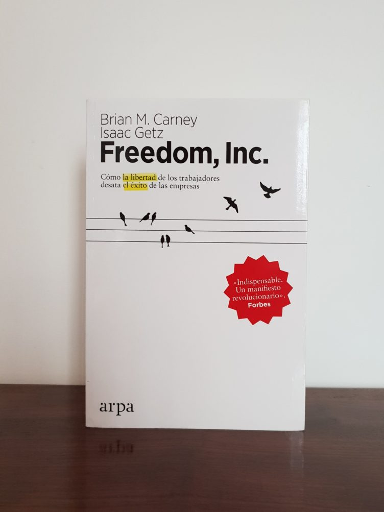 "The Spanish edition of ""Freedom, Inc."""