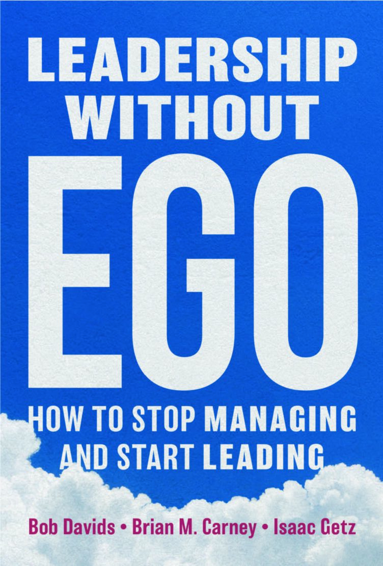 "Our new book ""Leadership without Ego"" just released"